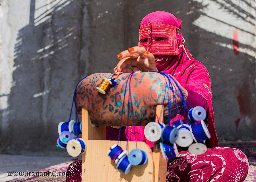 شک بافی از هنرهای سنتی و زیبای ایران
