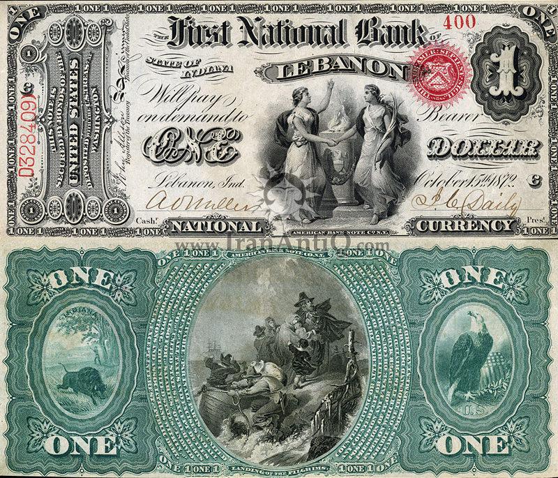 1 دلار سری ملی