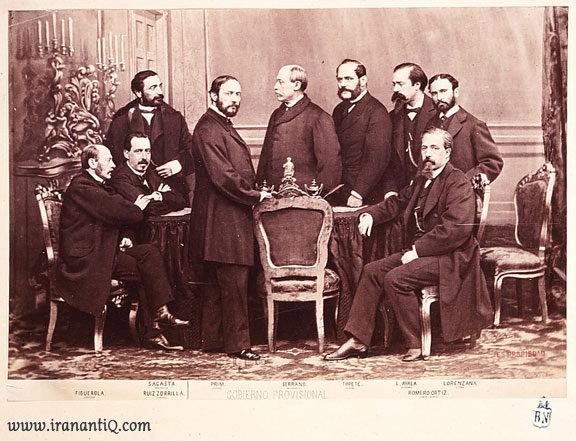 اعضای دولت موقت در انقلاب باشکوه اسپانیا