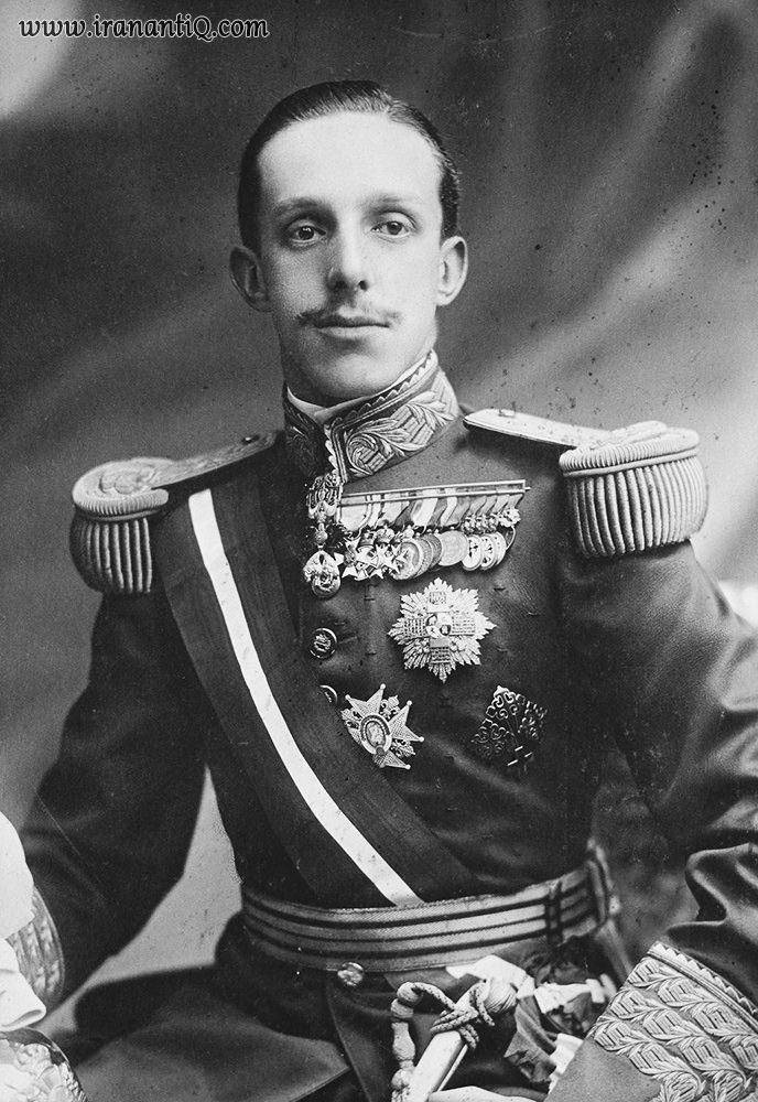 آلفونسوی سیزدهم پادشاه اسپانیا