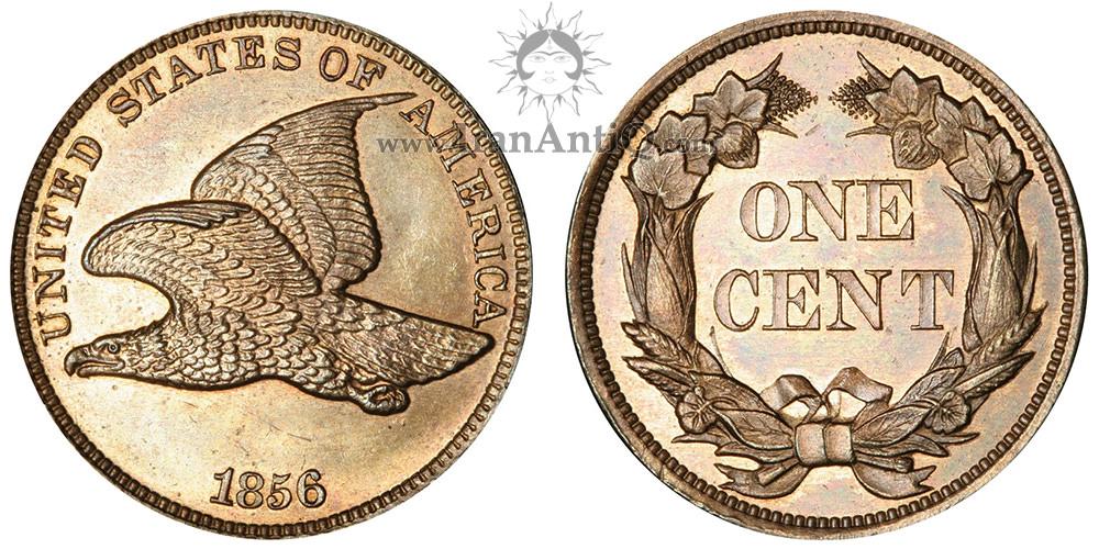 سکه یک سنت پرواز عقاب - Flying Eagle One Cent