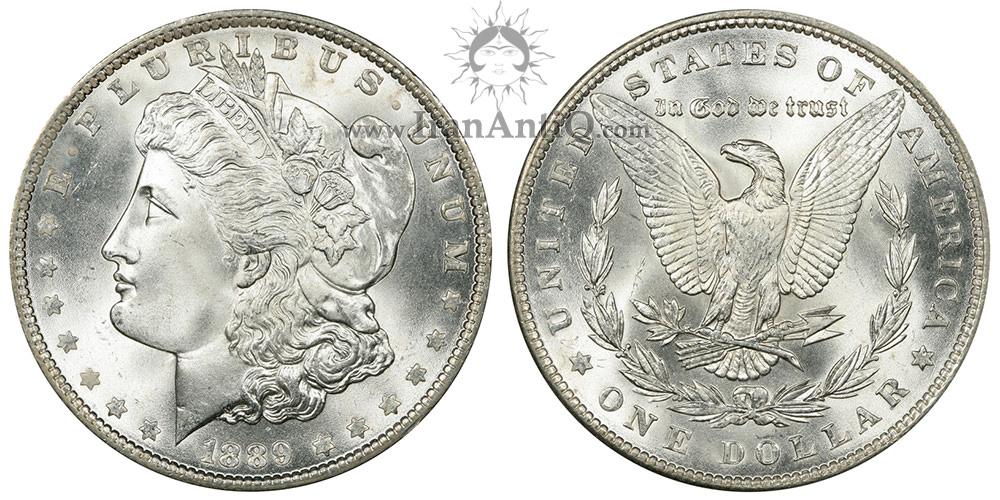 سکه یک دلار مورگان (طراح سکه) - Morgan One Dollar