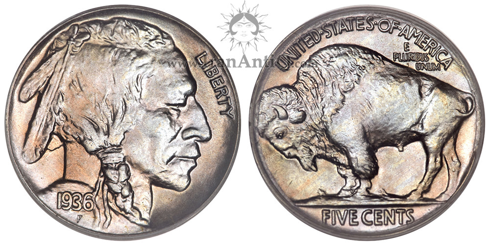 سکه پنج سنت بوفالو