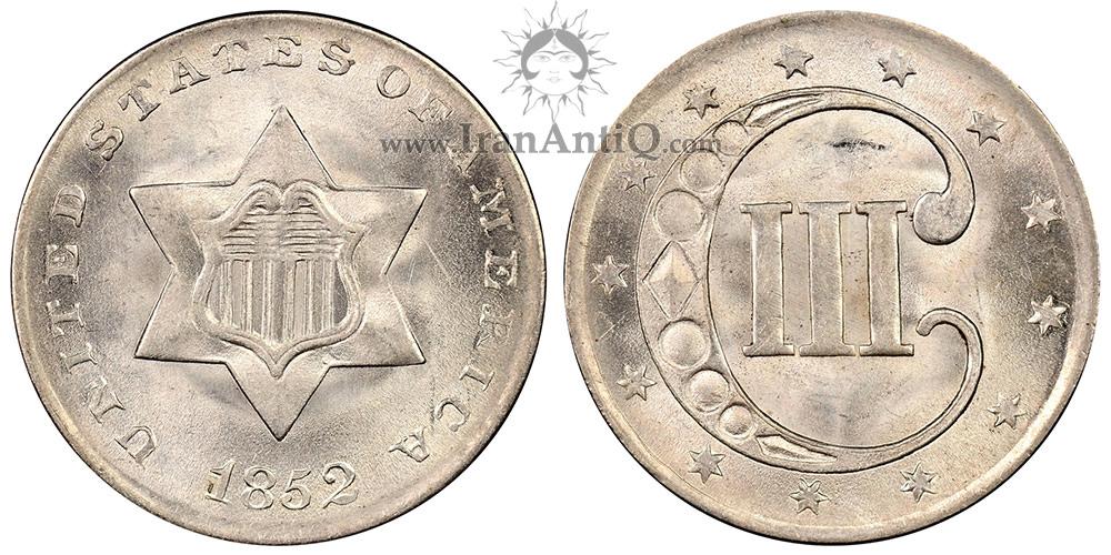 سکه 3 سنت - نوع یک