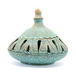 جا شکلاتی مشبک سفالی پتینه مخروطی Patina Pottery candy bowl