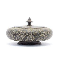 جا شکلاتی (شکلات خوری) سنگی با طرح طاووس Stone candy bowl